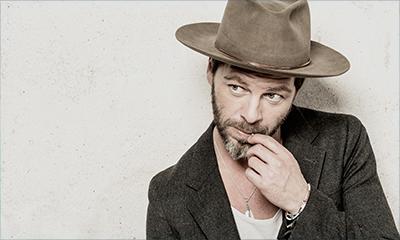 French man wearing cowboy hat