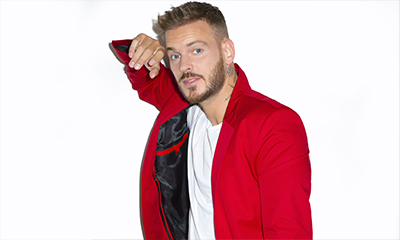 French man in a red jacket